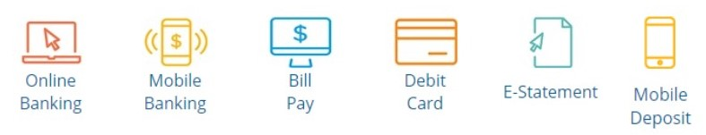 online banking graphics