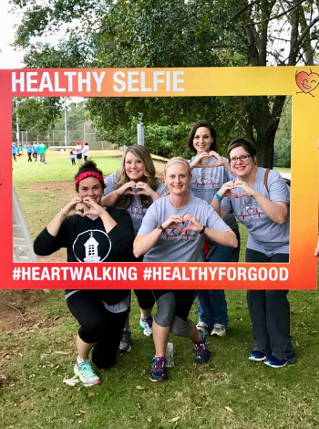 heart walk team 2017